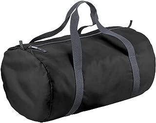 BagBase Packaway Barrel Bag/Duffle Water Resistant Travel Bag (32 Litres)