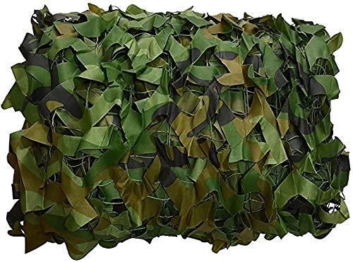 ZHEYANG Red de camuflaje de camuflaje a granel, malla, cubierta, persiana para caza, decoración, sombra, fiesta, camping, al aire libre (color: como se muestra, tamaño: 4 x 6 m)