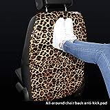 YTGOOD Autositz Rückenschutz für Kinder Kinder Baby Kick Mat from Mud Leopard
