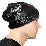 Skull cap Arnold Schwarzenegger Mr Olympia Premium Adult Thin Knit Cappelli Casual Beanie Hat 3D Pattern Skull cap