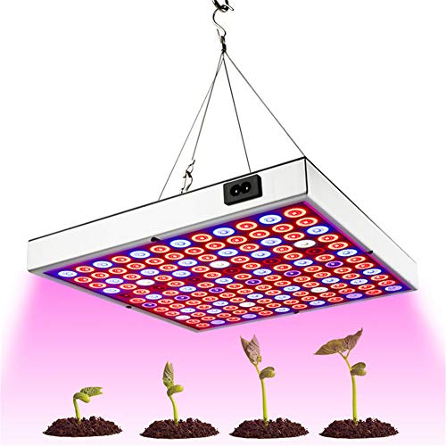 45W LED Grow Light Full Spectrum Panel Red Blue White IR UV Growth Lamp for Indoor Plants Flower Seed Greenhouse Hydroponic