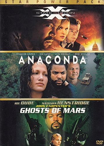 Star Power Pack (Xxx State of the Union / Anaconda / Ghosts of Mars)