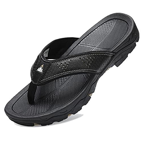 TcIFE Herren Flip Flops Komfort Lässige Tangasandalen Zehentrenner Sports Sandalen Beach/Pool Pantoffeln