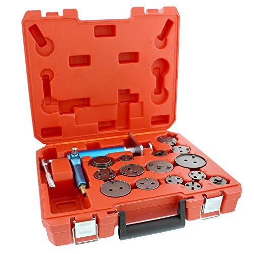 ABN Caliper Piston Compressor Tool 16-pc Pneumatic Brake Caliper Tool Air Brake Tools Brake Caliper Compressor Tool