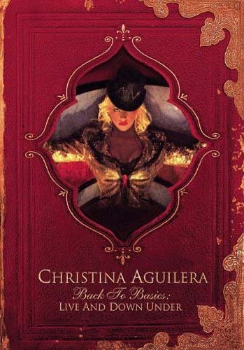 Christina Aguilera Back to Basics Live and Down Under Dvd ( 2 Disc Set )