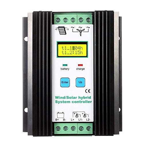 1000W Wind Solar Hybrid Controller 40A 24V Auto LCD Wind Turbine 600W e pannello solare 400W economico Solar Wind Hybrid Controller con protezione da sovracorrente