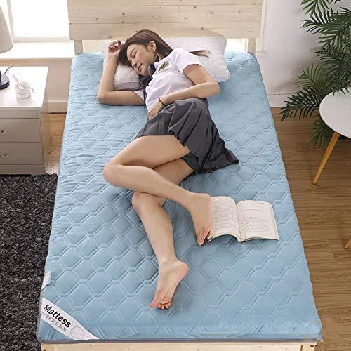 Tatami Bed Ground - Colchón plegable para futón, más tamaño, portátil, firmeza estudiante, lavable, colchón para cama de 5 cm de alto / E / 90 x 200 cm