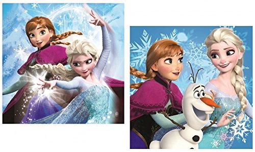 Housse de coussin décorative La Reine des neiges