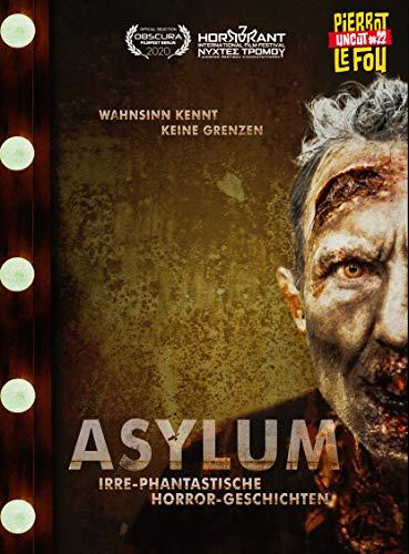 Asylum - Irre-phantastische Horror-Geschichten - Limited Edition - Mediabook (uncut) (+ DVD) - Cover B [Blu-ray]