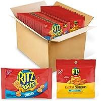 48-Pack RITZ Bits Cheese Crackers & RITZ Cheese Crispers Variety Pack