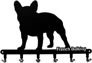 pannello portachiavi Jack Russel cane portachiavi nero 6 gancio Ganci portachiavi