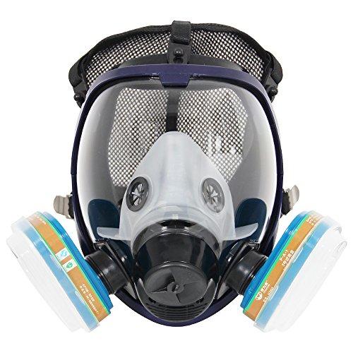 Komplette Anzug 6800 Malerei Spraying Full Face Atemschutzmaske Gasmaske Breather