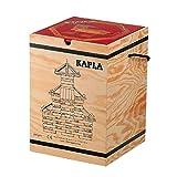 積木・カプラ カプラ280(白木)+デザインブック(中級・赤)>木箱入り 【並行輸入品】