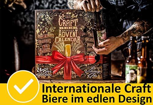 KALEA Craft Beer Adventskalender 2020, Biere von Privatbrauereien, Weihnachtskalender - 2