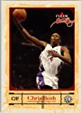 2004 05 Fleer Sweet Signatures Basketball Card #44 Chris Bosh Toronto Raptors