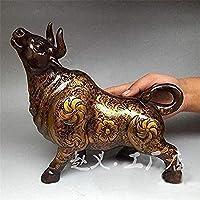 彫像彫刻彫刻、家の装飾品、アート、コレクションオフィス、彫刻置物装飾彫刻ブルヘッド動物家の装飾彫刻装飾アートクラフト
