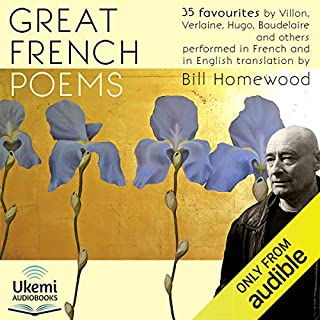 Great French Poems audiobook cover art
