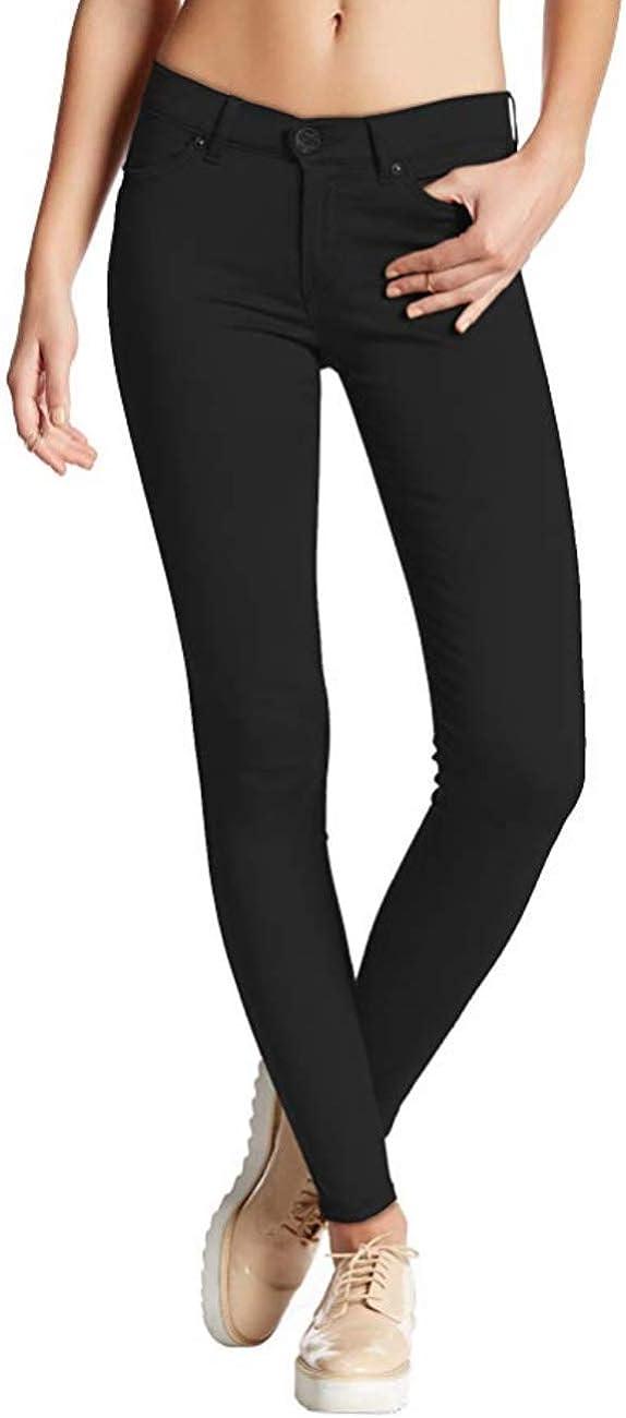 Hybrid Womens Hyper Ultra Stretch Comfy Skinny Pants, Capri, Bermuda