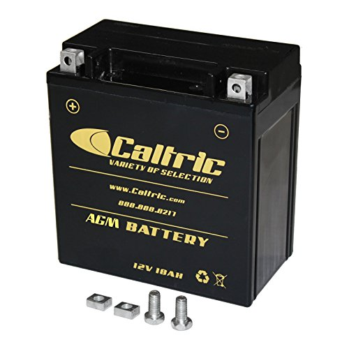 Caltric compatible with Agm Battery Kawasaki Vn1600 Vn-1600 Vulcan 1600 Classic 2003-2008