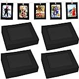 Fashion HW - Marco de fotos de cartón para manualidades (40 unidades, 10 x 15 cm), color blanco y negro