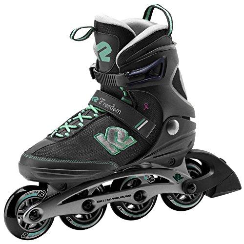 K2 Inline-Skates FREEDOM W 1 Black-Green 10,5