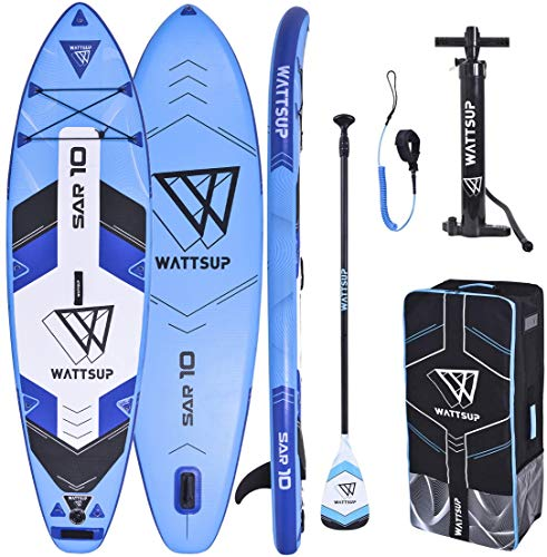 "WS WattSUP SAR 10'0"" SUP Board Stand Up Paddle Surf-Board Paddel ISUP 305cm"