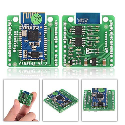 Ongoion Bluetooth-Verstärkermodul, CSR8645 APT-X Bluetooth 4.0 Audio-Empfängerplatine HiFi-Verstärker-Modul für Auto-Verstärker-Lautsprecher Sound-Lautsprecher Bluetooth-Empfängerplatine