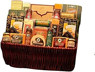Deluxe Meat and Cheese Gift Basket
