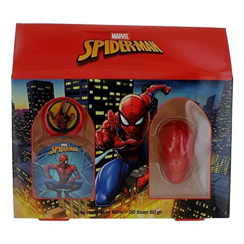 Spiderman Parfümschachtel (50ml) und 3D-Seife, 476 g
