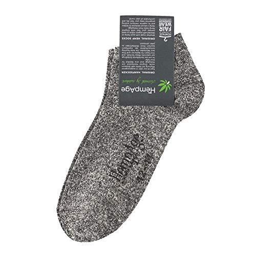 HempAge BT Sneaker Hanf/Bio-Baumwolle, Melange, Gr. 42/44