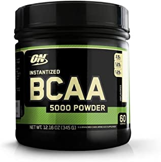 Optimum Nutrition Instantized BCAA Powder, Unflavored, Keto Friendly Branched Chain Essential Amino Acids Powder, 5000mg, ...
