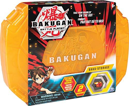 Bakugan 6045138 - Storage Case, Aufbewahrungskoffer mit extra Bakugan Basic Ball, unterschiedliche Varianten