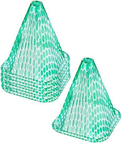 Connex Pflanzenhut 20 x 20 cm - 5 Stück im praktischen Set - Zum Schutz vor Witterung & Schädlingen - Unterstützt den Reifeprozess / Mini-Gewächshaus / Anzuchtglocke / Pflanzenhaube / FLOR80320