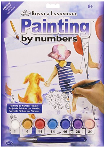 Royal & Langnickel - PJS77 - Spring Bunnies Design Paint by Numbers Kit