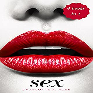 Sex: 4 Books in 1: Tantric Sex, Kama Sutra, Dirty Talk & Sex Positions audiobook cover art