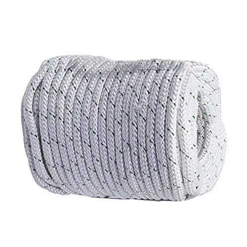 """findmall 3/7"""" x150 feet Double Braid Polyester Rope 5900Lbs Heavy Duty Rope for Tie,Pull,Swing,Climb and Knot"""