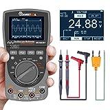MUSTOOL MDS8207 – Multimètre avec stockage intelligent 2 en 1, numérique, 40 MHz, 200 MSPS/seconde, oscilloscope automatique, oscilloscope 6000 points RMS, DMM, testeur de tension et de courant AC/DC
