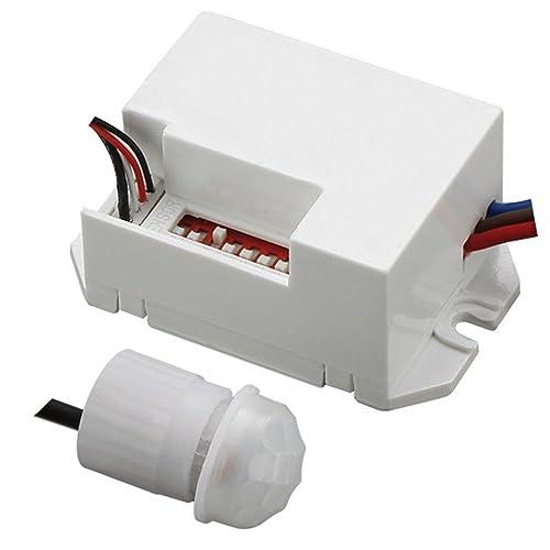Maclean - Energy mce32 - detector de movimiento 800w 360° sensor exterior pir