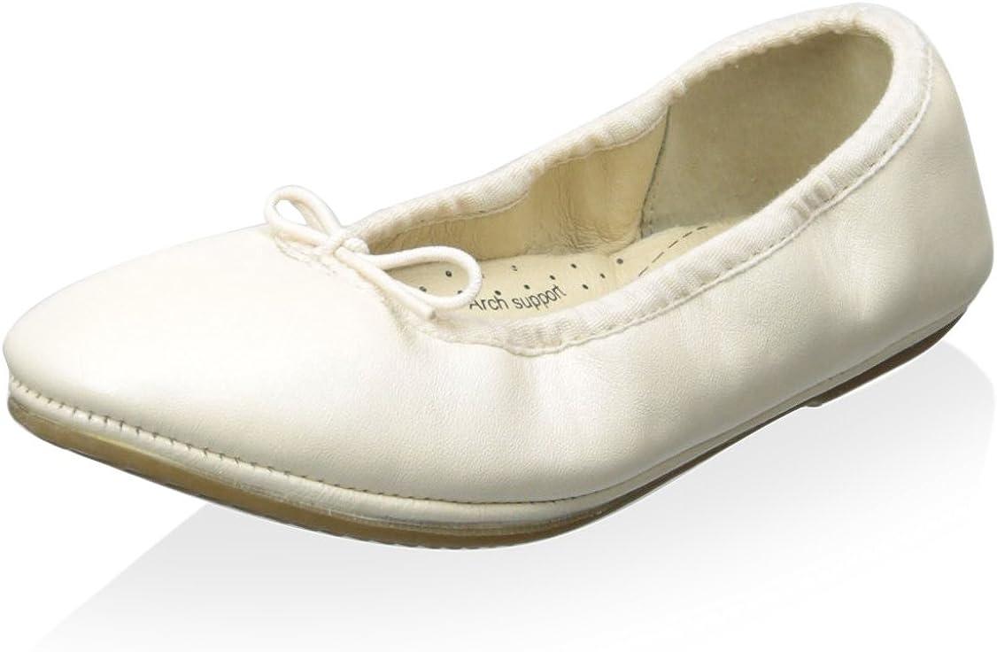 Old Soles Kid's Cruise Ballet Flat, Pearl Metallic, 35 M EU/3.5 M US Little Kid