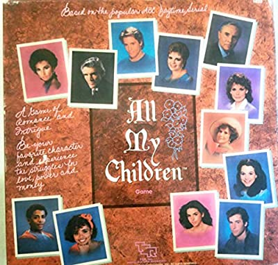 TSR Hobbies All My Children: Based on the Popular ABC Daytime Serial [BOX SET] by 1985 American broadcasting Companies
