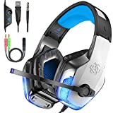 BENGOO V-4 Gaming Headset Over Ear Headphone for Xbox One, PS4, PC, Switch