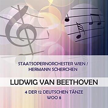 Staatsopernorchester Wien / Hermann Scherchen Play: Ludwig Van Beethoven: 4 Der 12 Deutschen Tänze, Woo 8 (Live)