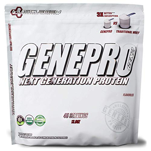 GENEPRO Protein: 45 Servings, Premium Protein for...