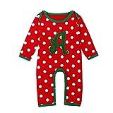 LEXUPE Baby Kleidung Set Mädchen Weihnachtsoutfit Baby Kleid Tütü Bodys Strampler Stirnband...