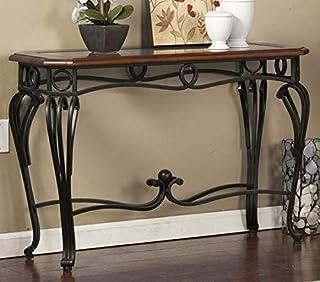 Amazon Com Wicker Sofa Console Tables Tables Home Kitchen
