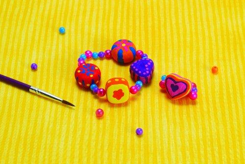 Manhattan Toy - 147400 - Kit de Loisir Créatif - Groovy Girls - Bracelet et Anneau à Peindre
