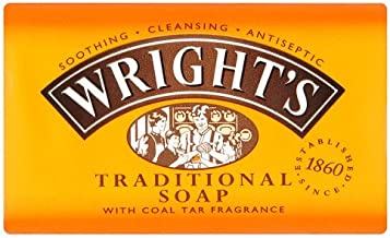 Wright's Traditional Soap with Coal Tar Fragrance, 125g