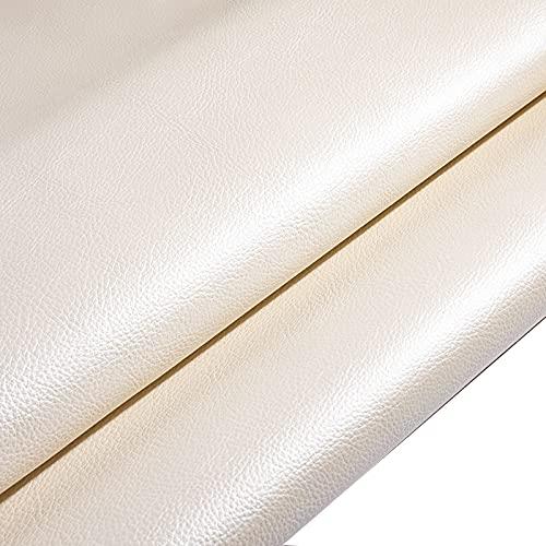 MUYUNXI Polipiel Cuero Artificial De Cuero para Tapizar Sofá Polipiel Silla Manualidades Cojines 138 Cm De Ancho Vendido por Metro(Color:60#)