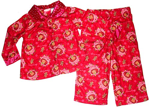Strawberry Shortcake ~Berry Merry Holiday Pajamas~ Toddler Girls 2T Red
