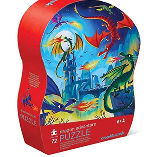 Crocodile Creek - Dragon Adventure - 72 Piece Jigsaw Puzzle for Ages 6 & Up